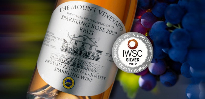 Sparkling Rose 2009 Wins Silver at the IWSC